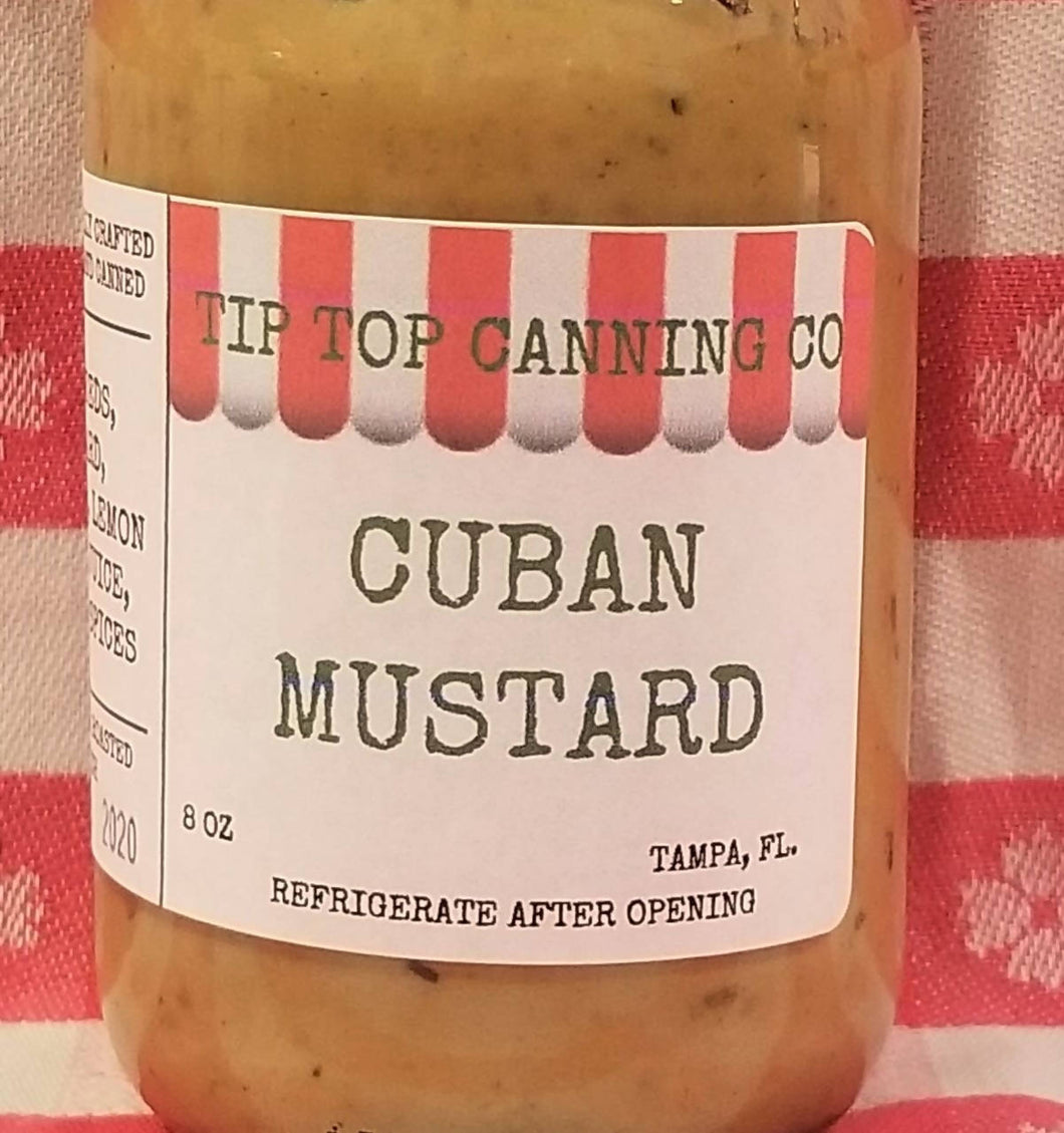 Tip Top Canning Cuban Mustard