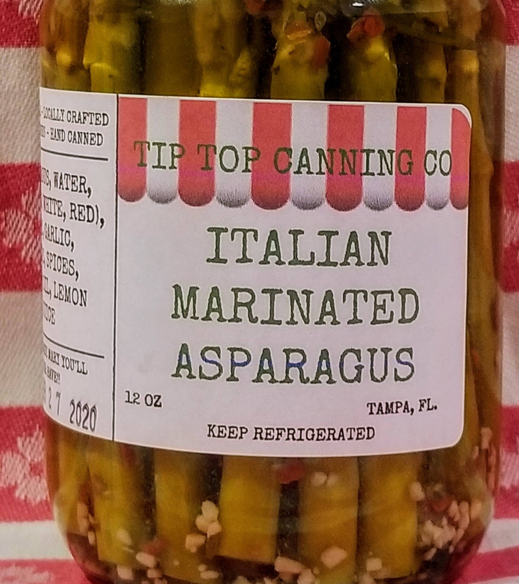Tip Top Canning Italian Marinated Asparagus