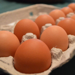 Sereniteas Farm Free Range Chicken Eggs Dozen