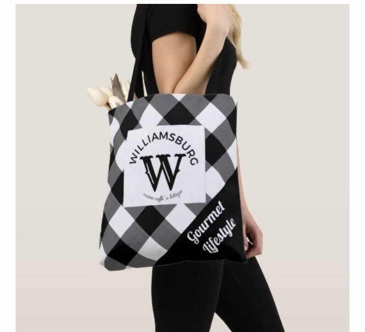 WILLIAMSBURG CUCINA MADE IN THE USA FARMERS MARKET TOTE (100% RECYCLED)