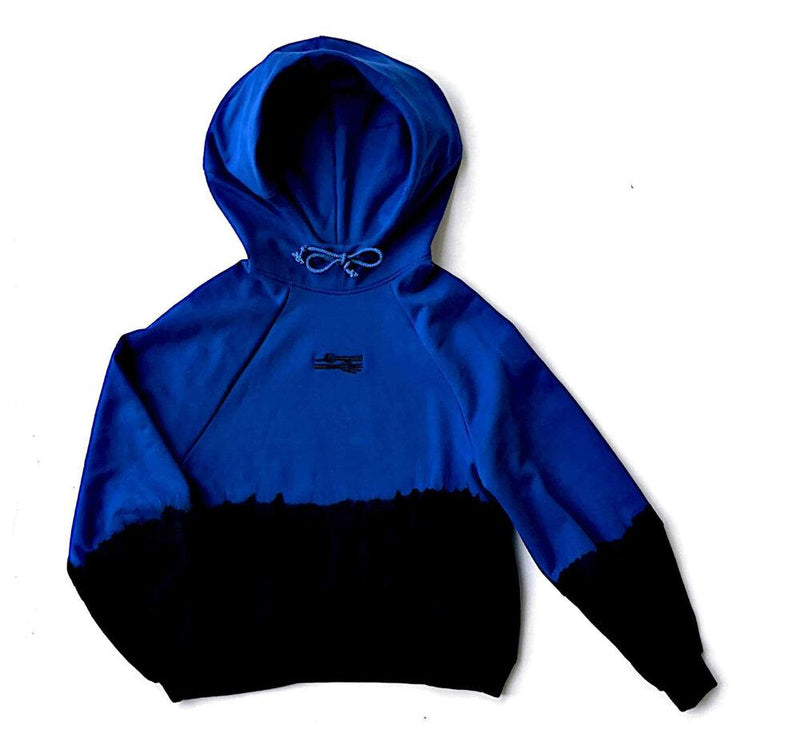 GIVE ME SPACE Hoodie / Blue