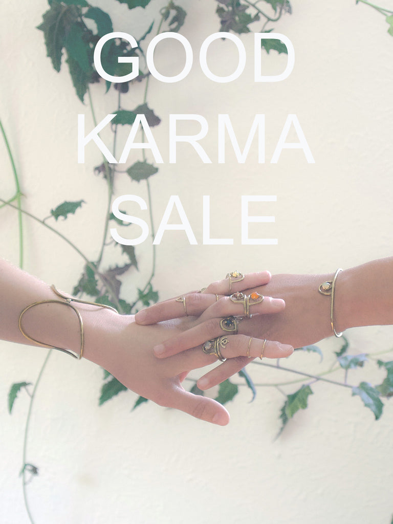 Good Karma Sale // Laurel Hill Jewelry