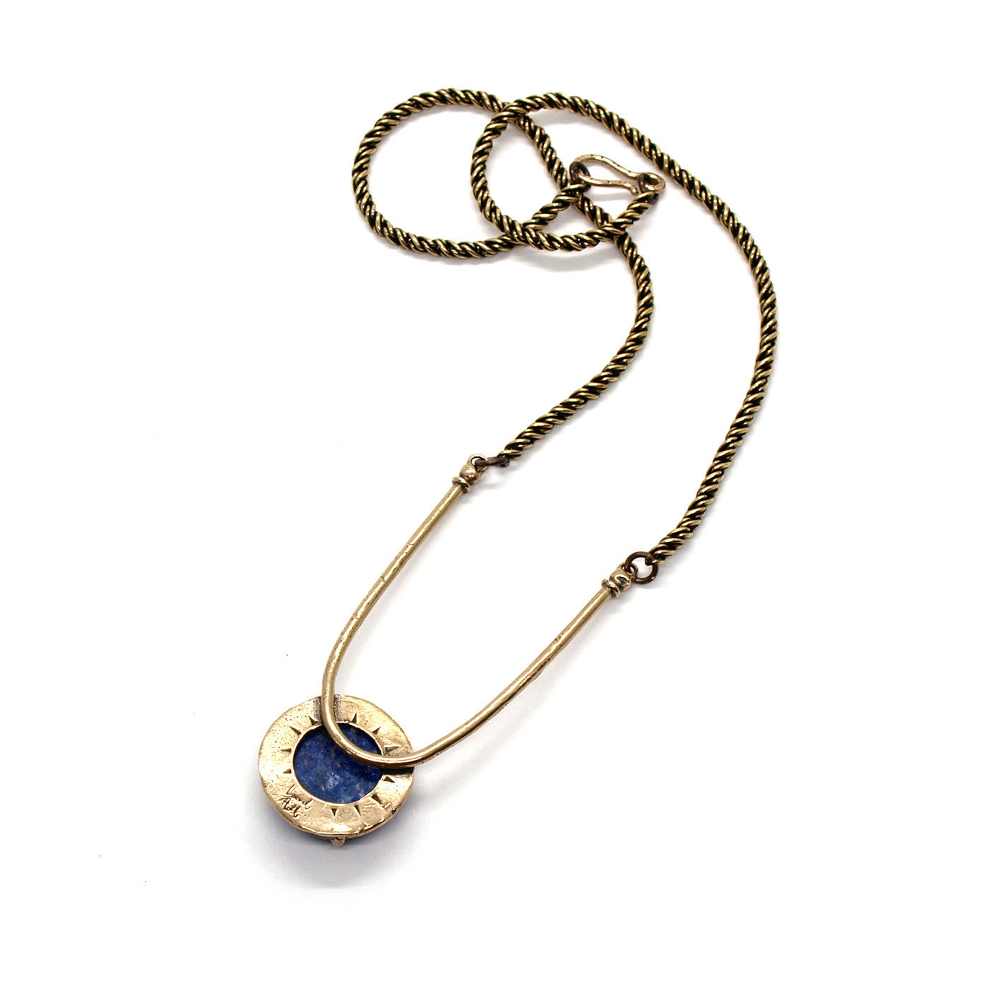 Amla Necklace // lapis