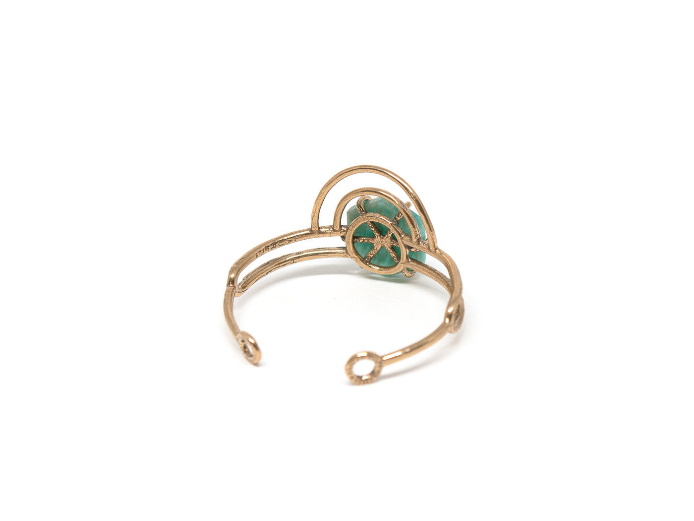 Dreamweaver Cuff // Amazonite