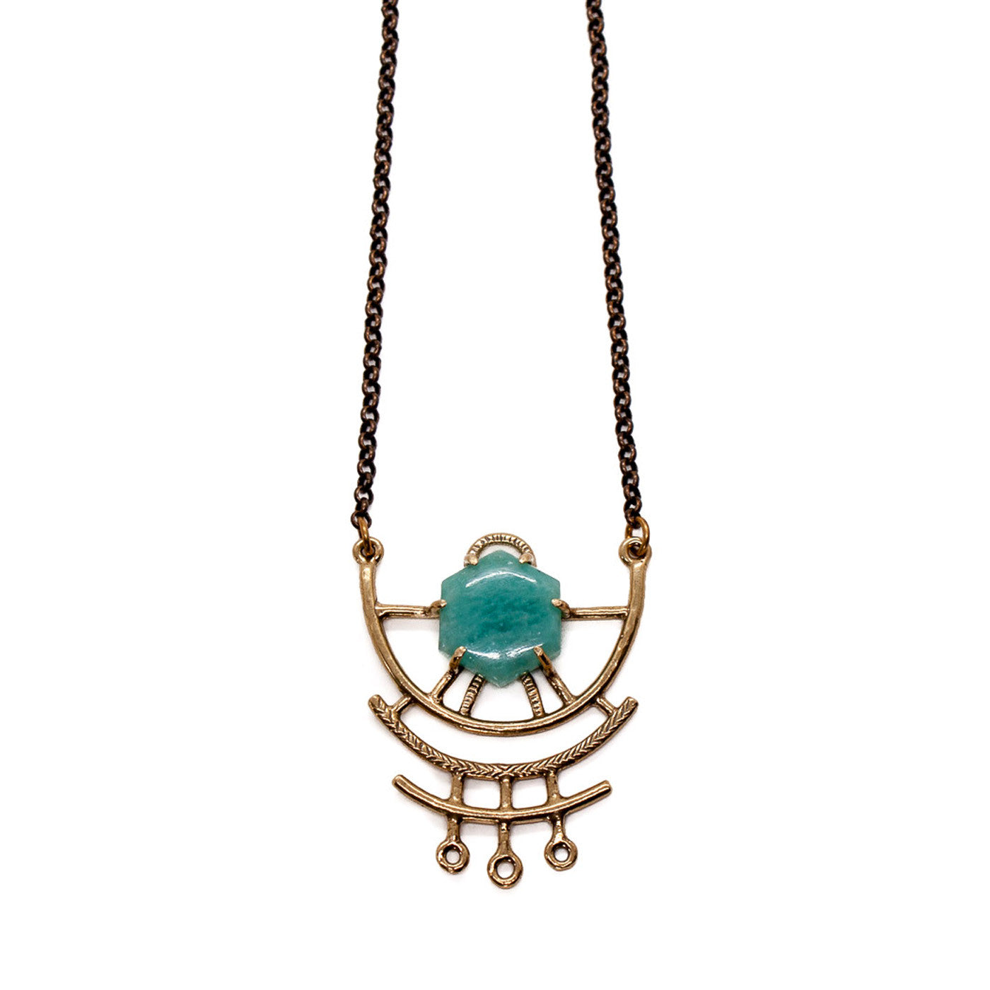 Dreamweaver Necklace // Amazonite {wholesale}