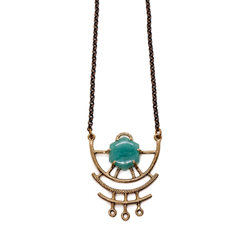 Dreamweaver Necklace // Amazonite