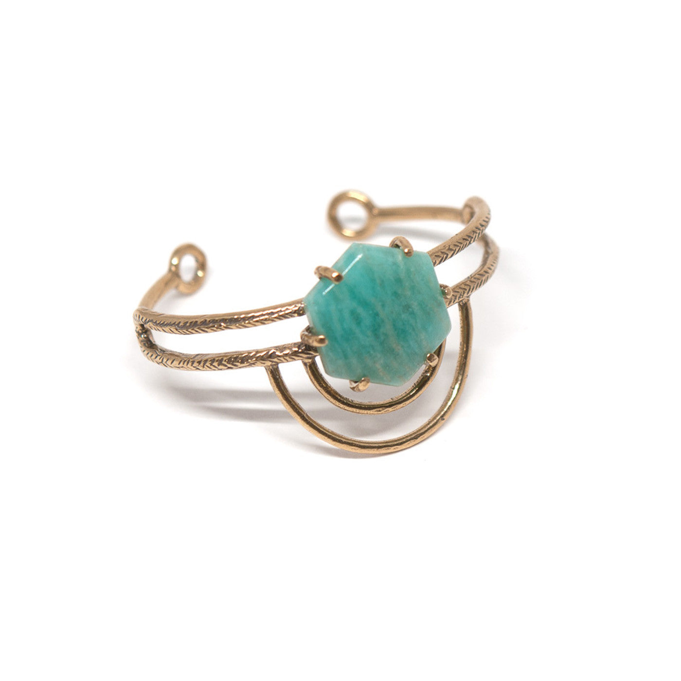 Dreamweaver Cuff // Amazonite {wholesale}
