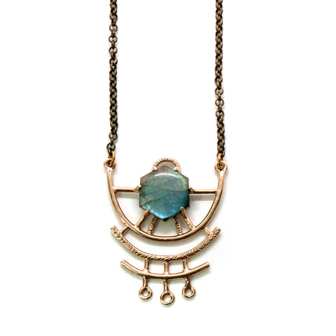 Dreamweaver Necklace // Labradorite