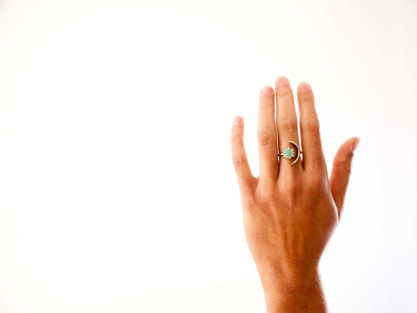 Io Ring // Amazonite