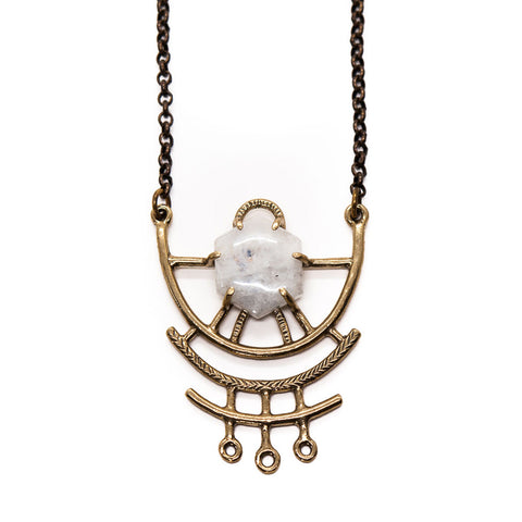Dreamweaver Necklace // Moonstone