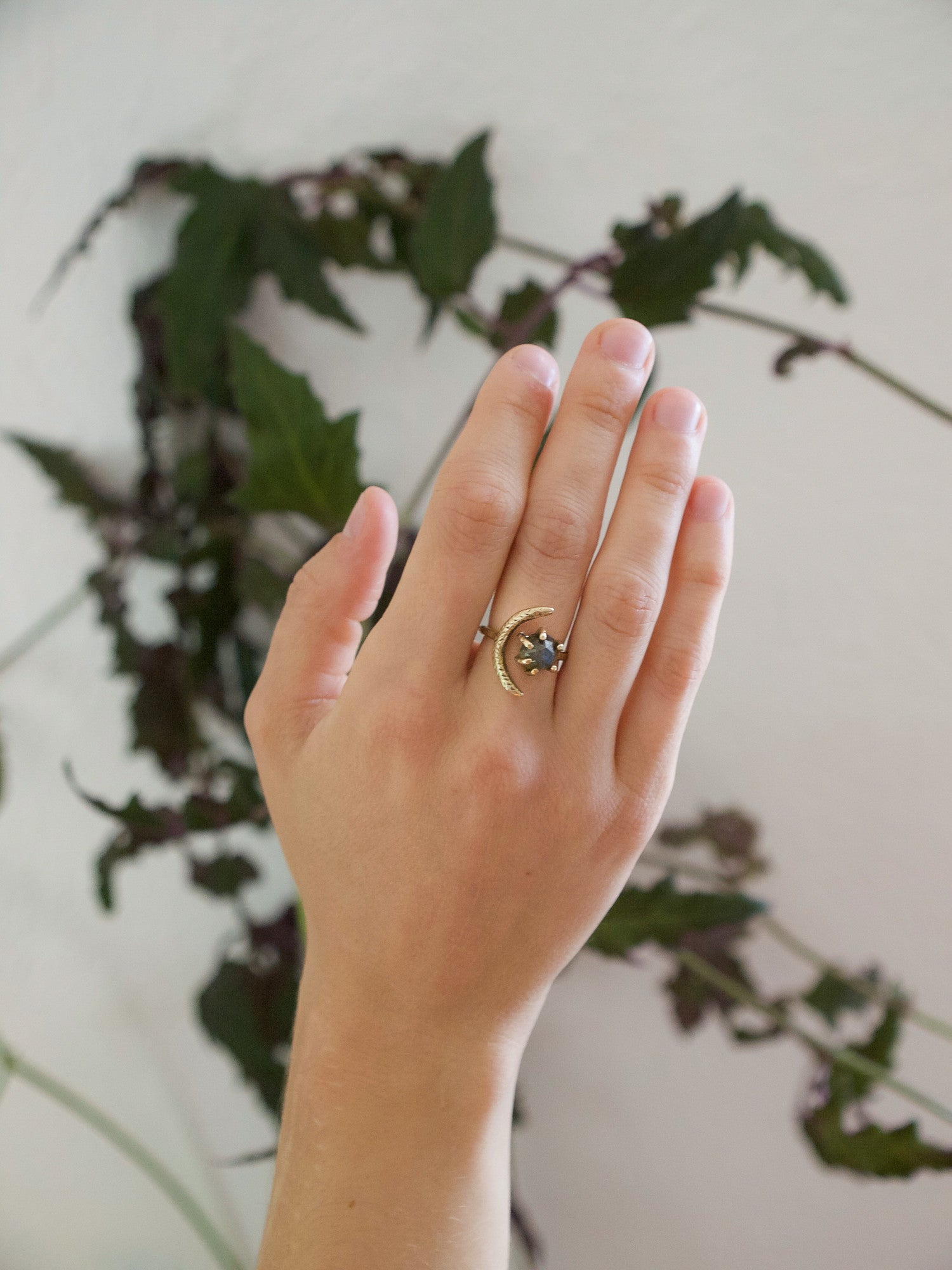 Io Ring // Labradorite {wholesale}