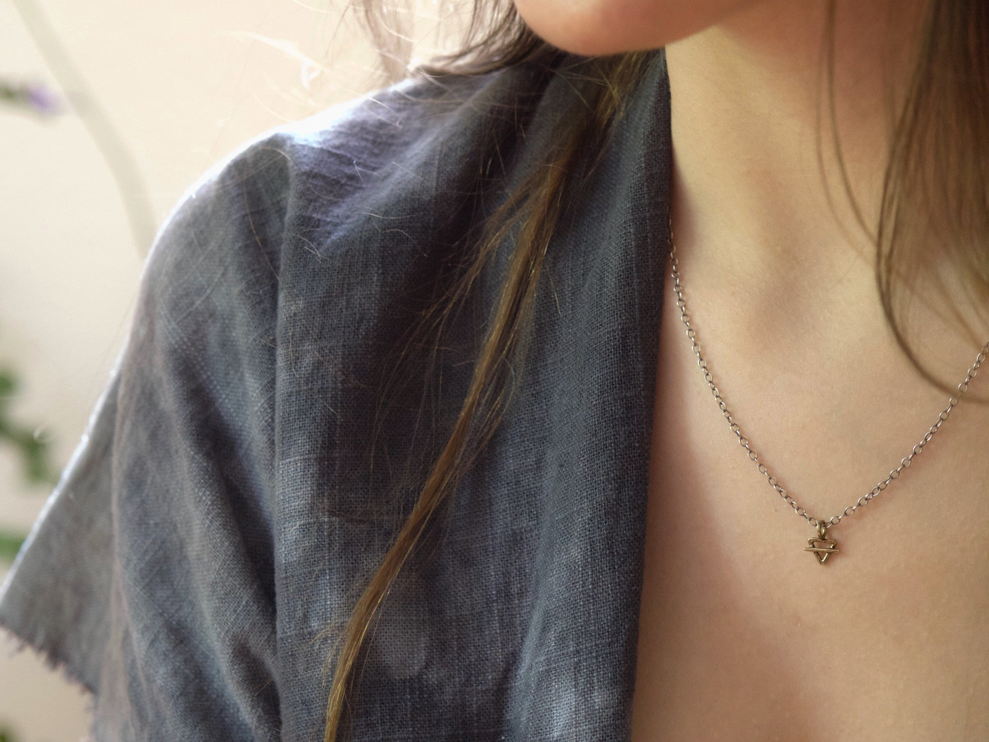 Element Necklace // Earth
