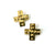 Telos Cross Earrings