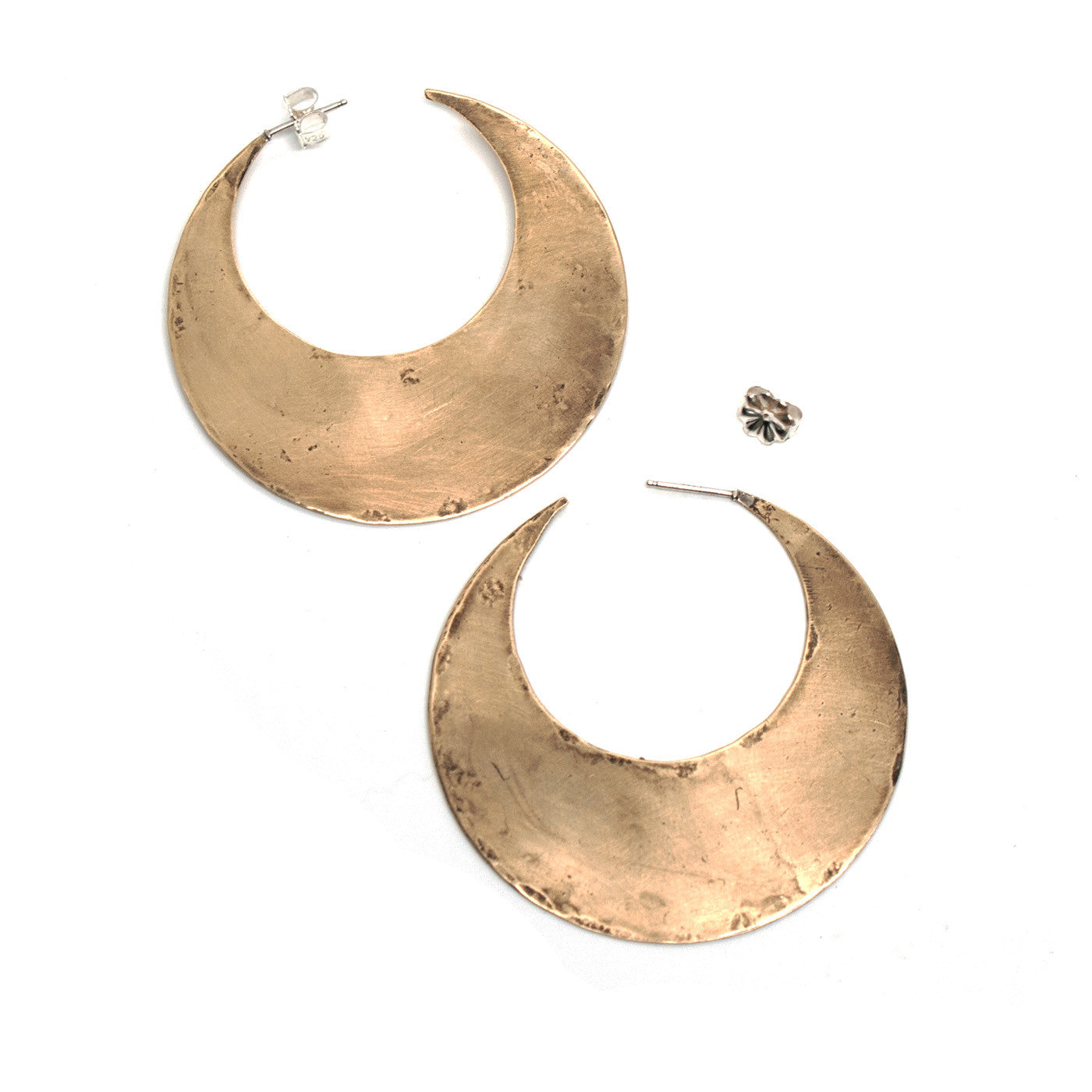 Crescent Moon Hoops {wholesale}
