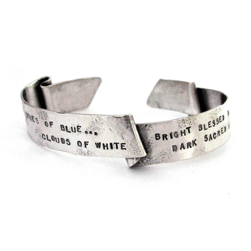 Custom Banner Cuff // personalized with text