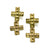 Telos Double Cross Earrings {wholesale}