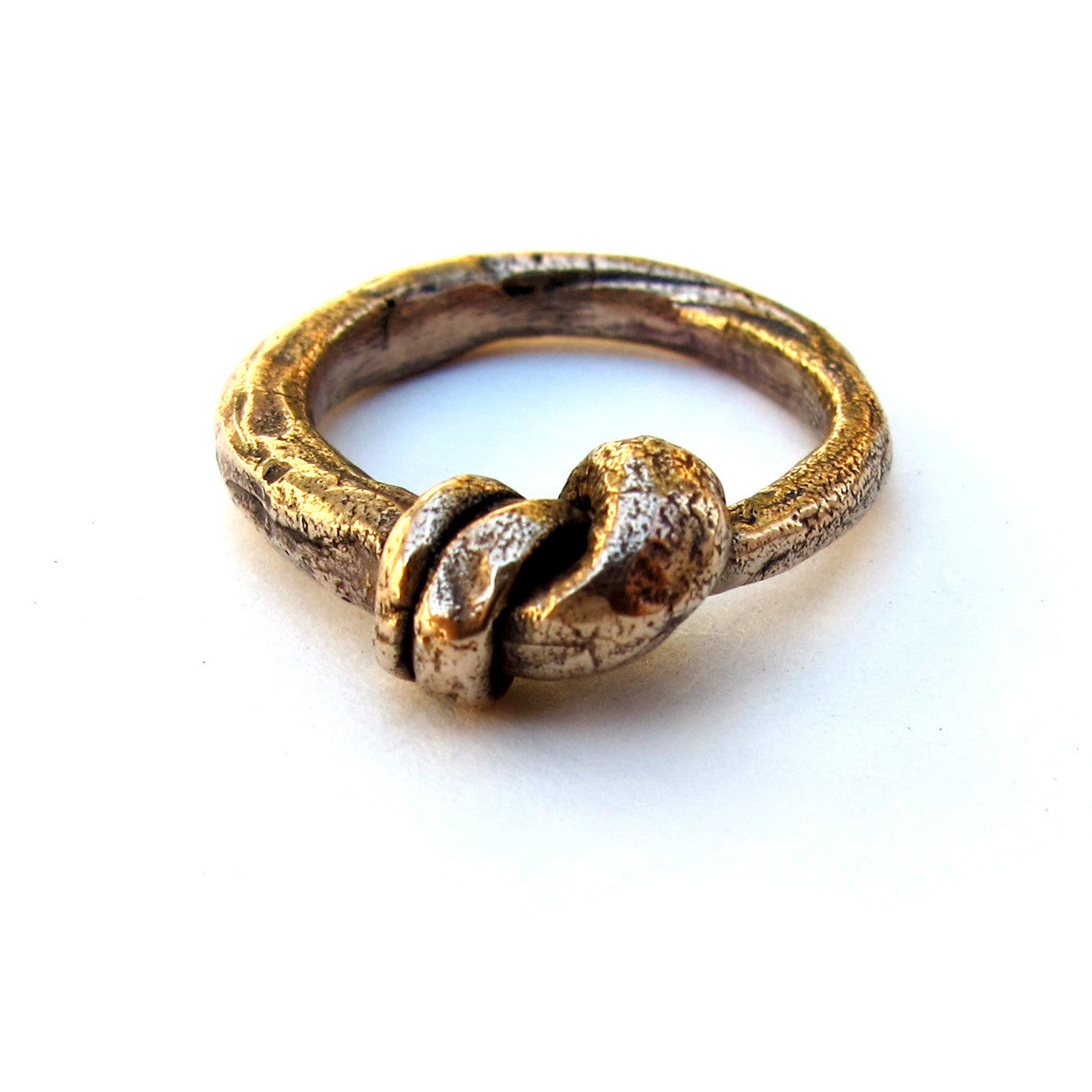 Large Knotted Ring {wholesale}