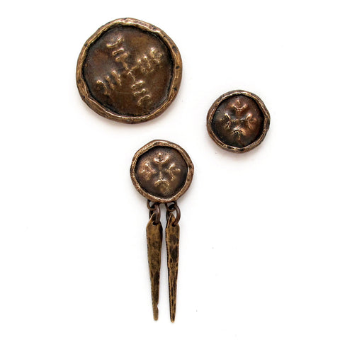 Medallion Brooches