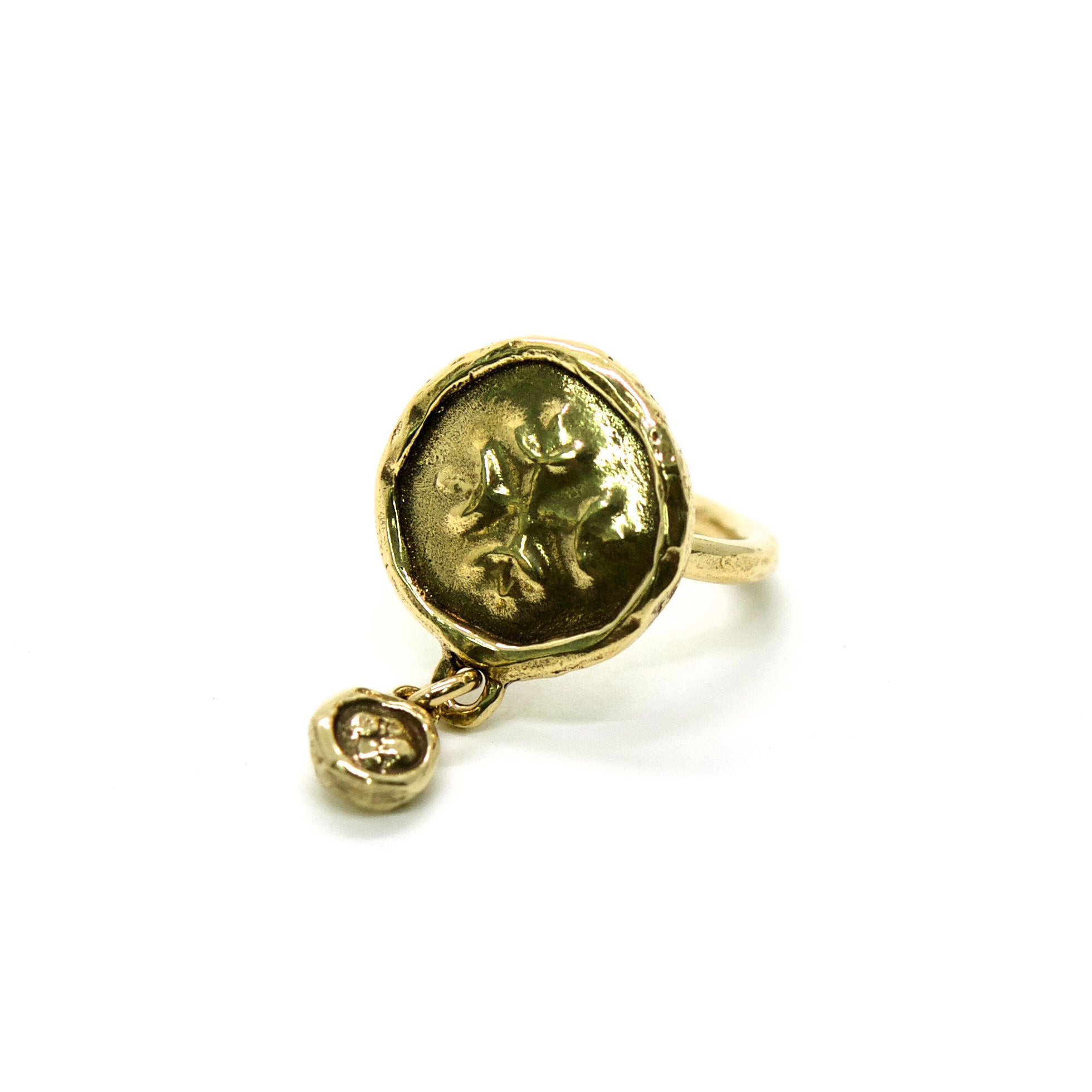 Double Medallion Ring