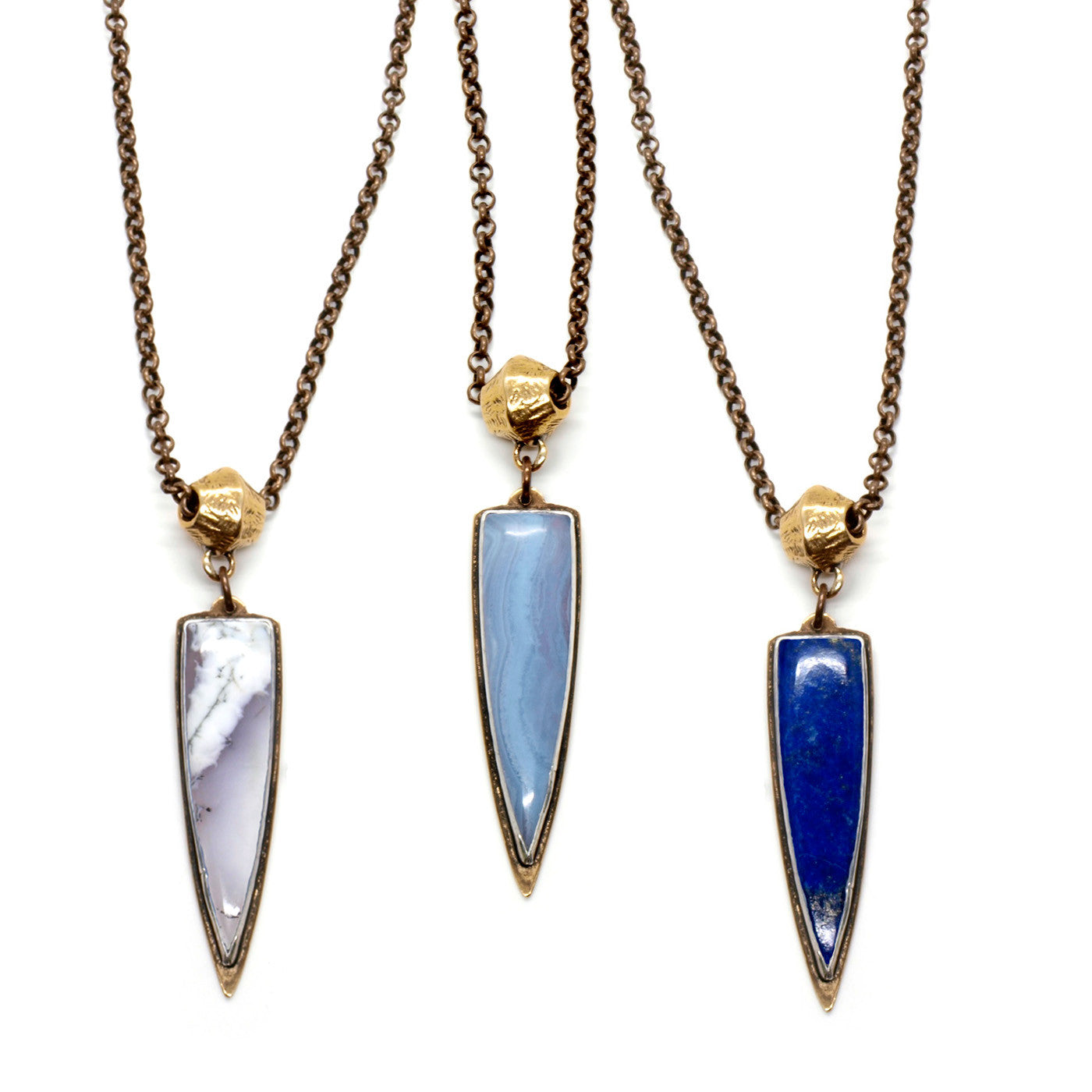 Mirage Necklace // Lapis