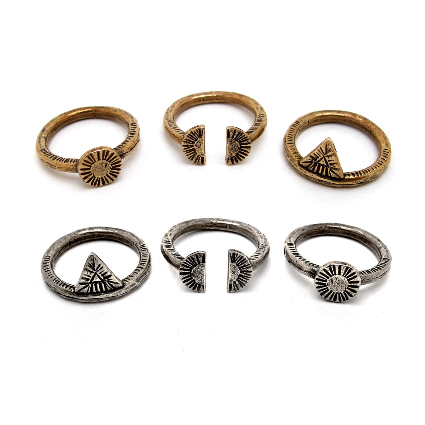 Circle Relic Ring {wholesale}