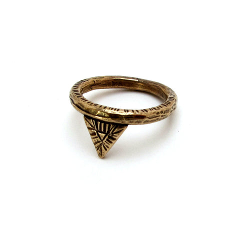 Triangle Relic Ring