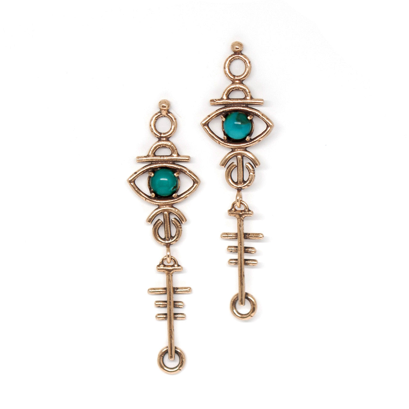 Sulis Earrings || moonstone | lapis | turquoise | red jasper {wholesale}