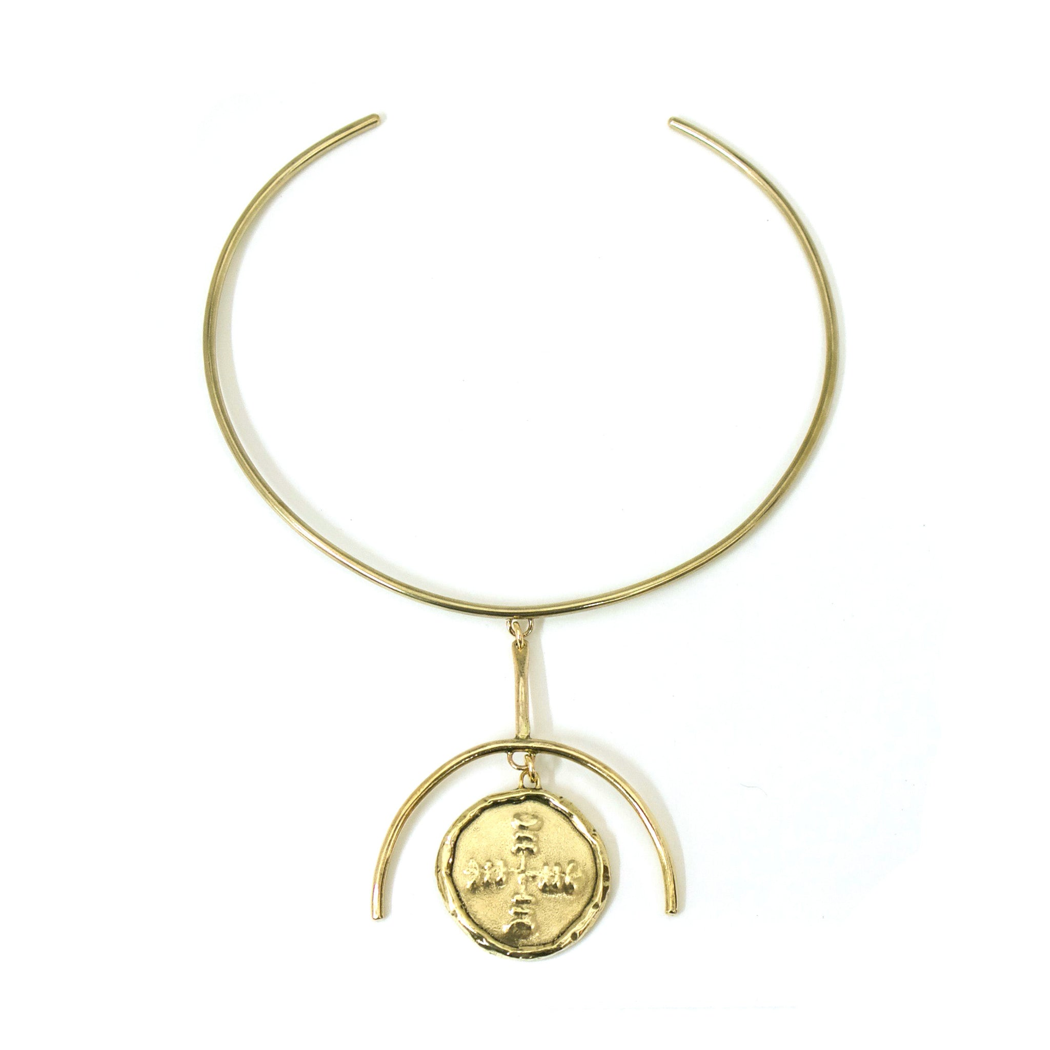 Telos Medallion Collar {wholesale}
