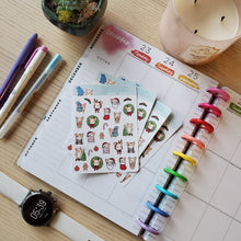 Load image into Gallery viewer, Christmas Planner Stickers