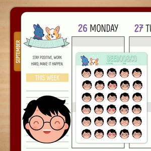 Harry Potter Emoji Planner Stickers