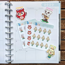 Load image into Gallery viewer, Animal Crossing Planner Stickers