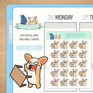 Table Flip Planner Stickers