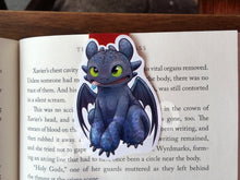 Load image into Gallery viewer, Dark Dragon Magnetic Bookmark