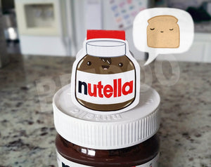Nutella Magnetic Bookmark