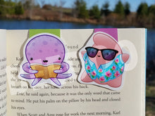 Load image into Gallery viewer, Sea Creatures Magnetic Bookmarks