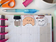 Load image into Gallery viewer, Cute Coffee Bookmark Set