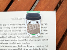 Load image into Gallery viewer, Cute Coffee Paper Cup Magnetic Bookmark