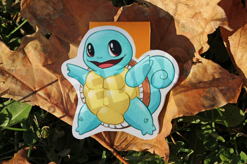 Squirtle Magnetic Bookmark