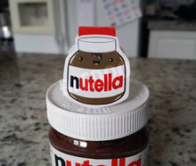 Load image into Gallery viewer, Nutella Magnetic Bookmark