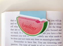 Load image into Gallery viewer, Cute Watermelon Magnetic Bookmark