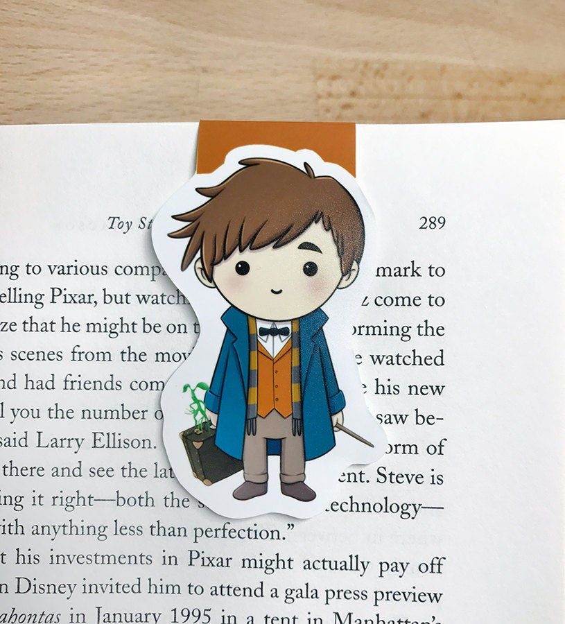 Magical Beasts Magnetic Bookmark