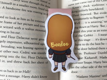 Load image into Gallery viewer, Red Headed Wizard Magnetic Bookmark