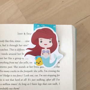 Ariel - The Little Mermaid Magnetic Bookmark