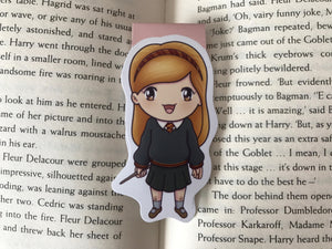 Red Headed Wizard Magnetic Bookmark
