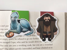 Load image into Gallery viewer, Hagrid and Buckbeak Magnetic Bookmarks
