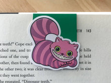Load image into Gallery viewer, Riddle Cat Magnetic Bookmark