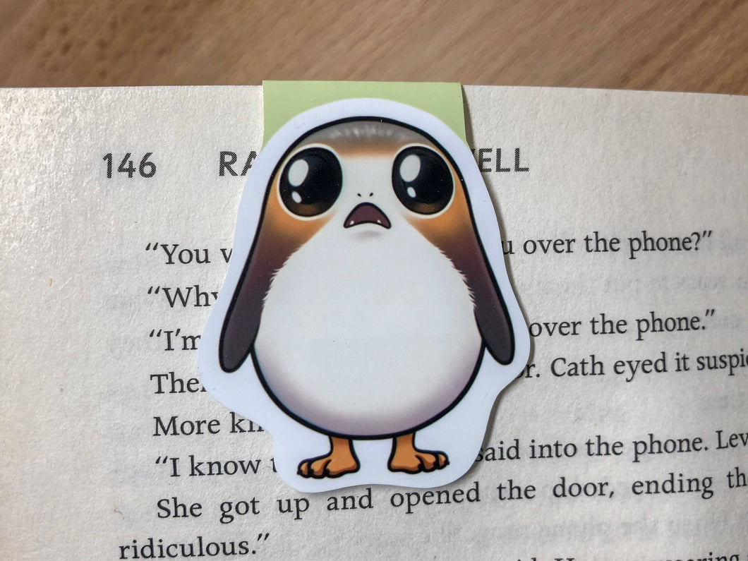 Space Bird Magnetic Bookmark