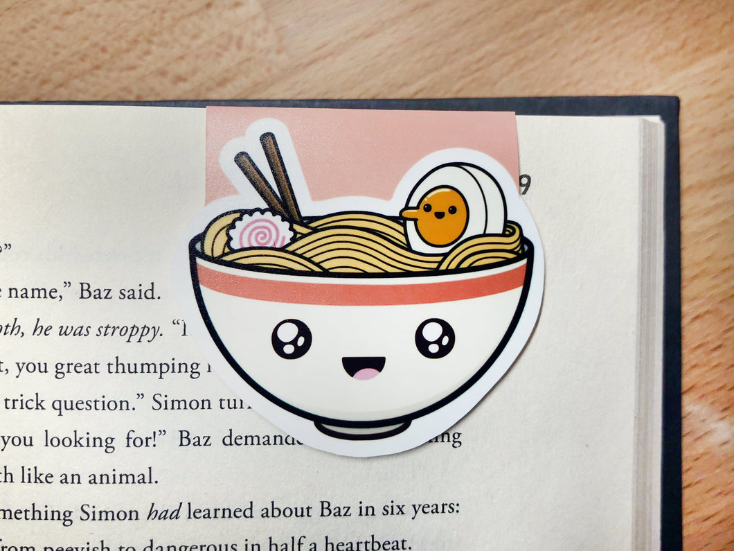 Ramen Magnetic Bookmark