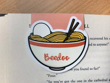 Load image into Gallery viewer, Ramen Magnetic Bookmark