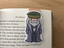 Load image into Gallery viewer, Professor Albus Dumbledore Magnetic Bookmark